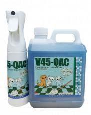 V45-QAC 地板消毒殺菌劑+300ml噴霧瓶
